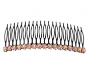 Hair Supplies 11 Cm Side Combs Hair Combs / Metal Hairpin,Champagne