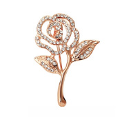 Pearl Brooch / Corsage Pin / Badge Collar Pin Female or Male,Rose
