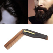 Baomabao Folding Beard And Hair Comb Hairdressing Beauty Tools For Men