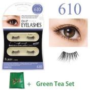 D.U.P False Eyelashes - Furry 610