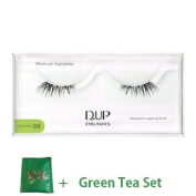 D.U.P False Eyelashes Premium Natural - 08