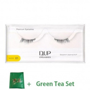 D.U.P False Eyelashes Premium Nude - 01