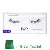 D.U.P False Eyelashes Premium Rich - 20