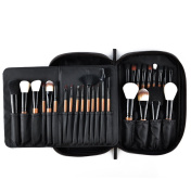 MSQ 28PCS Makeup Brushes Set Professional Soft Synthetic Hair Full Set Cosmetic Brushes Kits Powder Foundation Eye Brushes With Pouch Bag Best for Artist/Student