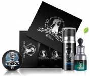 Premium Beard Grooming Kit - Gift Set for Men, Grooming Kit for Men for Softer, Touchable Beards