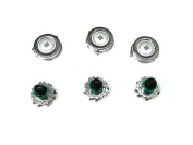 3pc Replacement Shaver Heads cutters for Philips Norelco SensoTouch RQ11 Series