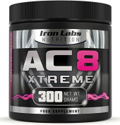 AC8 Xtreme   Watermelon   Pre Workout Supplement   Energy & Muscle   20-40 Servings   300 grammes