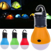 New Outdoor Hanging 3 Led Camping Tent Light Bulb Fishing Lantern Lamp