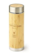 Northcore Stainless Steel Thermos Flask (bamboo, 360ml) Mens Unisex New