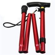 Folding Walking Stick Adjustable Light Weight Easy Fold Aluminium Sticks