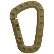 Abs Carabiner Outdoor Hook Connexion Clip Tac Link Keyring Spring Gate Coyote