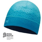 Hat Microfibre Buff Single Layer Hat Hak Turquoise - Trekking, Hiking, Skiing
