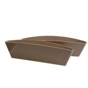 2 Pcs New Catch Catcher Storage Organiser Box Caddy Car Seat Slit Pocket