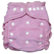 Imagine Baby Products Fitted Bamboo Nappy 2.0, Lilac, Snap