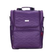 Nappy Bag Backpack (purple)