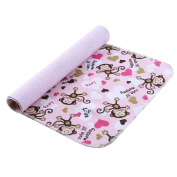 MOMLOVES - Baby Waterproof Washable Nappy Flannel Changing Mat Pad