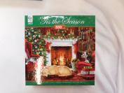 550pc Christmas Festive Fireplace