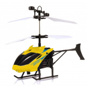 Induction Helicopter,SMYTShop Flying Mini RC Infraed Induction Helicopter Aircraft Flashing Light Toys for Kid Teenagers