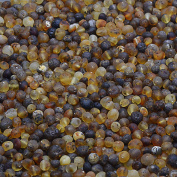 Raw Amber Loose Beads for Jewellery Making - Baltic Amber Beads with drilled hole - 10grams per pack - 6 different colours and 2 bead sizes to choose