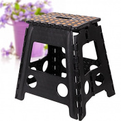 Livebest 38cm Super Sturdy Folding Step Stool Safe Enough, Home helper with Portable Carrying Handle