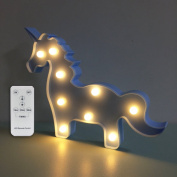 Night Lights for Kids Unicorn Led Night Light Remote with Dimmer Gifts for Kids or Gift Ideas or Baby Room Decor