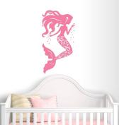 Mermaid Wall Decal Nursery Decor - Girl Decor - Home Decor - Beach Theme