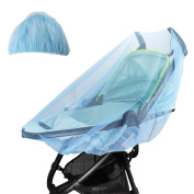GUGER Mosquito Net for Baby Standard Strollers and Car Seats Portable & Durable Baby Insect Netting(1pcs)