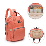 Large Nappy Backpack,Baby Nappy Changing Bag with Waterproof Changing Mat,Stroller Hook,Water Repellent Mum Rucksack