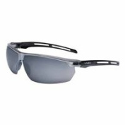 Tirade Sealed Eyewear, Grey Polycarbonate Uvextra AF Lenses, Black/Gry