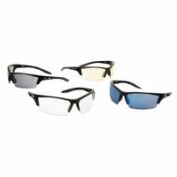Instinct Safety Eyewear, Grey Poly Supra-Dura HC Lenses, Black Matte F