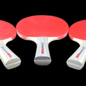 Two Side Rubber Table Tennis Ping Pong Racket Paddle Bat Sports Meeting