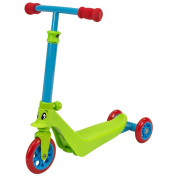Zycom Zykster 2 In 1 Toddler Scooter & Trike - Lime/blue/red