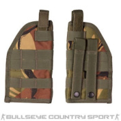 Kombat Universal Molle Holster Right Handed Dpm Woodland Airsoft Cadet