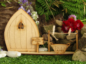 Large Fairy Laundry Freestanding Wooden Fairy Door Self Assembly Craft Kit