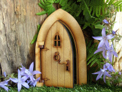 """Opening Country Cottage Fairy Door. Three-Dimensional """"Country Cottage"""" Style Opening Fairy Door Wooden Self Assembly Craft Kit."""