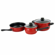 Tompkins 5 pc Cookware Set, Red