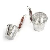 2-Piece Stainless Steel Pasta Basket Set