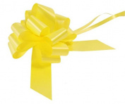 2 x Yellow 50mm Waterproof Poly Pull Bows