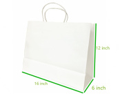 "Metrogalaxy 41cm x 15cm X12"" Big Kraft Paper Bags, Party Bags, Shopping Bags with Handles, Colour"
