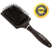 Paddle Hair Brushes For Blow Drying, Straightening & Smoothing. Salon Quality Paddle Hairbrush For Medium Or Long Hair. .