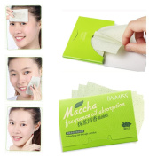 Oil-Absorbing Paper, MML® 80Pcs Sheets Make Up Oil Control Blotting Facial Face Clean Oil-Absorbing Paper