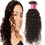 ALI JULIA 7A Brazilian Virgin Curly Hair Weave 1 Bundle Human Hair Weft Extensions Natural Colour 95-100g/pc