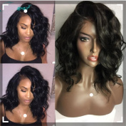 Human Hair Body Wave 100% Real Hair Brazilian Hair Glueless Front Lace Wigs 130 150 180 Density Natural Colour from Dream Beauty for women