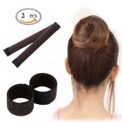 HEHUB Hair Styling Disc Hair Bun Shaper Maker Donut Bun Maker Hairstyle Clip Beauty Crown Donut Hair Style Tools Ballet Hair Bun DIY Doughnuts Hair Bun Tool