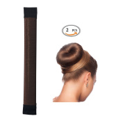 Hair Bun Shapers Crown Maker 2 Pcs Modern Hair Styling Beauty and Donut Hair Style Tools