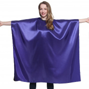 Mane Caper Iridescent Salon Cape Professional Quality 110cm X 150cm Heavy Duty Material Extra Long Durability For Barbershop and Beauty Shop Use Long Lasting and Specialised