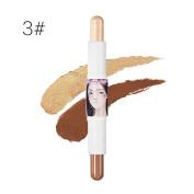 Concealer Doinshop Face Eye Multi-functional High-light Rods Bright Bar Stick Natrual Cream