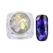 Morecome Nail Art Gorgeous Mirror Powder Chrome Pigment Glitters Nail