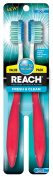 Reach Fresh and Clean Soft Value Pack Adult Toothbrushes, 2 Count