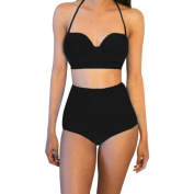 DaySeventh Women's One Piece Bikini Set High Waisted Padded Swimwear Swimsuit